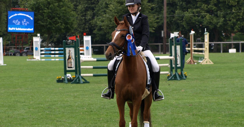 Turniervorstellung von Ponys Sarah Thiel
